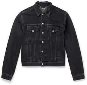 Balenciaga Embroidered Denim Jacket
