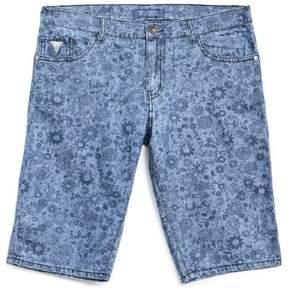 GUESS Boy's Floral Denim Shorts (8-18)