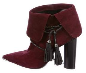 Barbara Bui Suede Ankle Boots