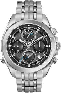 Bulova Men's Precisionist Stainless Steel Chronograph Watch - 96B260