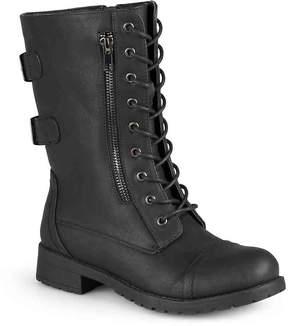 Journee Collection Women's Kendel Combat Boot