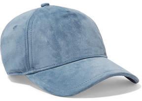 Rag & Bone Marilyn Suede Baseball Cap - Blue