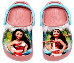 Crocs Fun Lab Disney (TM) Moana (TM) Clog (Baby Girl, Toddler Girl & Little Kid)