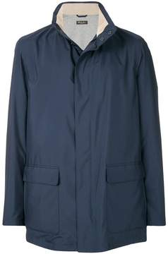 Loro Piana concealed front parka