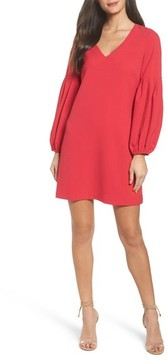 Chelsea28 Women's Bloused Sleeve Shift Dress
