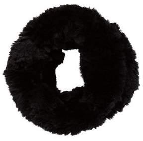 Tory Burch Fur Snood Scarf
