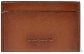 Ermenegildo Zegna Burnished-Leather Cardholder