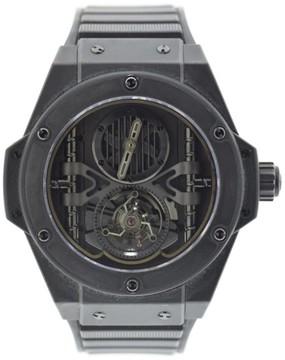 Hublot Big Bang King Power Tourbillon 705.C1.0007.RX Black Ceramic & Rubber 48mm Mens Watch