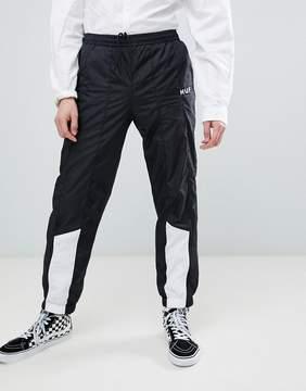 HUF Area Track Pants In Black