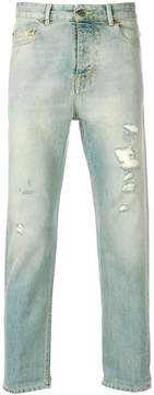 Golden Goose Deluxe Brand straight leg distressed jeans