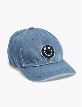 Lucky Brand PATCH DENIM BASEBALL HAT