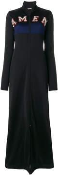 Amen long embellished sweatshirt dress