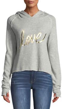 Generation Love Sabrina Love Hooded Pullover Sweatshirt