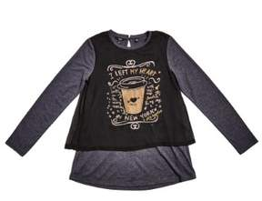 GUESS Girl's Long-Sleeve Tee (7-16)