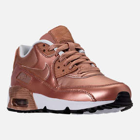 Nike Girls' Grade School 90 SE Leather Running Shoes