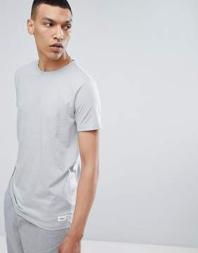 Lindbergh Mouline Crew Neck T-Shirt in Gray