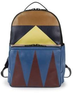 Valentino Marine Leather Backpack
