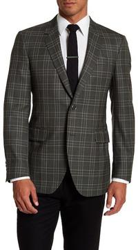Robert Talbott Carmel Plaid Wool Sport Coat