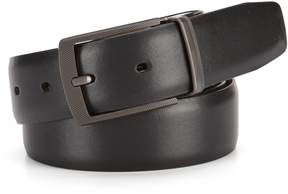 Roundtree & Yorke Big & Tall Reversible Montana Leather Belt