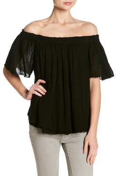 Velvet by Graham & Spencer Begonia Off-the-Shoulder Blouse