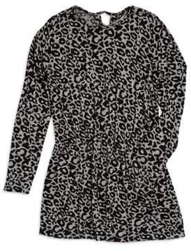 Flowers by Zoe Girl's Leopard Print Dress