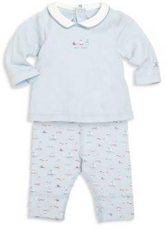 Petit Bateau Baby's Two-Piece Bodysuit & Leggings Set