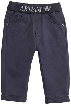 Armani Junior Infant Boy's Cotton Twill Pants