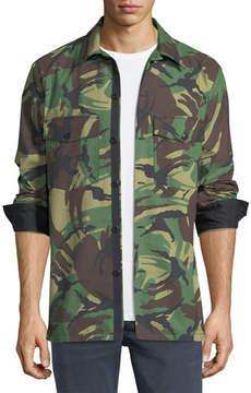 Rag & Bone Heath Camouflage Shirt Jacket