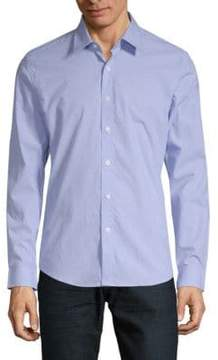 Hyden Yoo Cotton Slim-Fit Button-Down Shirt