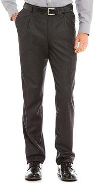 Daniel Cremieux Classic-Fit Pleated Front Solid Color Dress Pants