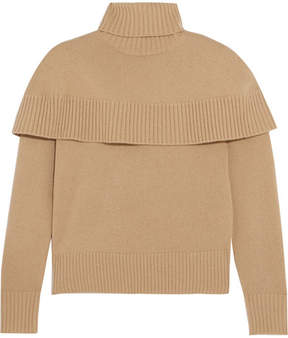 Chloé Cashmere Turtleneck Sweater - Camel