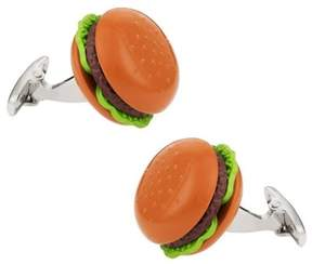 Bed Bath & Beyond Hamburger Cufflinks