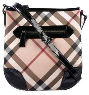 Burberry Super Nova Check Crossbody Bag