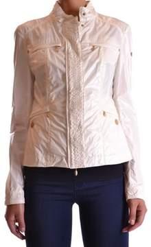 Geospirit Women's Beige Cotton Outerwear Jacket.