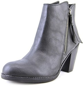 American Rag Baxter Women Round Toe Synthetic Black Ankle Boot.