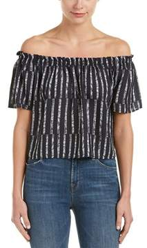 Eight Sixty Off-the-shoulder Blouse.
