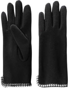 Joe Fresh Women's Print Gloves, Black (Size O/S)
