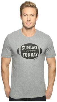 Life is Good Sunday Funday Football Smooth Tee Men's T Shirt