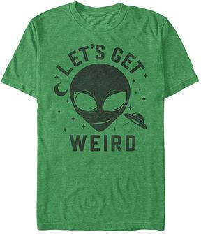 Fifth Sun Heather Kelly 'Let's Get Weird' Crewneck Tee - Men