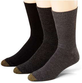 Gold Toe 3-pk. Acrylic Fluffies Crew Socks