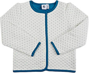 Petit Bateau QUILTED JERSEY JACKET