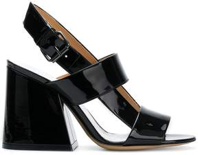 Maison Margiela slingback block heel sandals