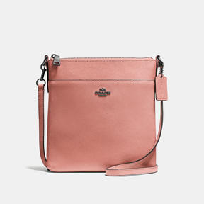 COACH Coach Messenger Crossbody - DARK GUNMETAL/MELON - STYLE