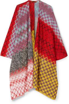 Missoni Crochet-knit Wrap - Red