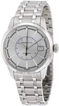 Hamilton Railroad Silver Dial Stainless Steel Men's Watch