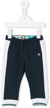 Roberto Cavalli colour block track pants