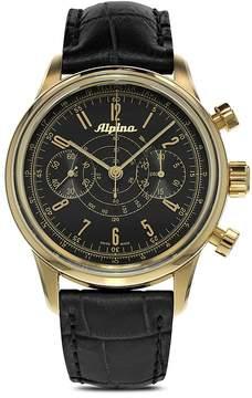 Alpina Automatic Startimer 130 Pilot Heritage Chronograph Watch, 41.5mm