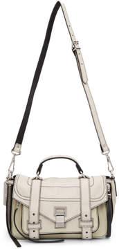 Proenza Schouler White PS1and Tiny Zip Messenger Bag