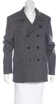 Fay Double-Breasted Wool Coat w/ Tags