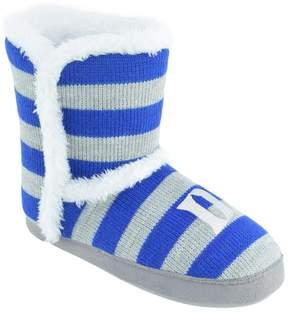 NCAA Women's Duke Blue Devils Striped Boot Slippers